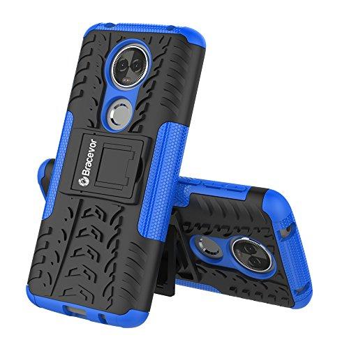 Bracevor Motorola Moto E5 Plus Premium Flip Cover Leather Case | Inner TPU | Wallet Stand