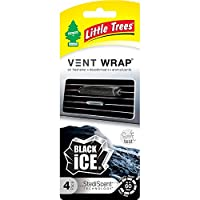 Little tree FBA_CTK5223124 Vent Wrap Black Ice, H18 x W2 x D7.5 cm