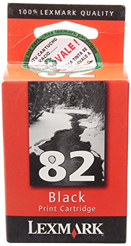 Lexmarke Patrone Nr.82 (Standardkapazität) Tinte 600 Seiten Z55/Z65/X5150/X5190Pro/X6150/X6170, schwarz Lexmark Tintenpatronen X6170