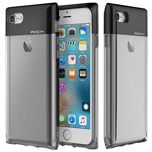 Custodia iPhone 7 Case,ROCK Serie Bottiglia di Profumo Telefono Caso,[Elegante][Ragazza][Carino][Romantico][PC+TPU][Trasparente]per Apple iPhone 7(4.7inch) - (Serie Bottiglia Di Profumo)