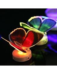 Bazaar Changer la fibre optique LED cadeau de lumière clignotant papillon