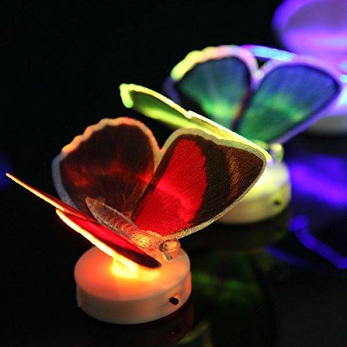 Bazaar Changer la fibre optique LED cadeau de lumière clignotant papillo