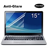 [2Pack] portátil de 15,6pulgadas anti Glare Protector de pantalla, Forito ordenador portátil anti-glare Protector de pantalla protector de pantalla para HP/Dell/Asus/Acer/Sony/Samsung/Lenovo/TOSHIBA, Dispaly 16: 9((2unidades/paquete)