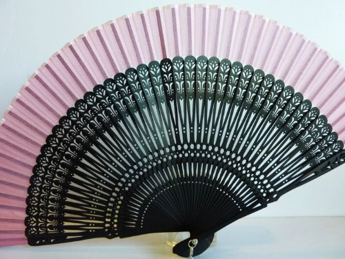Tang dynasty (TM) Hochwertige Japanische Seide Handheld Fan Hand Fan - Red Fan Japanese Folding -