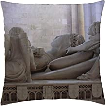 """Dona Ines–Funda de almohada manta (18""""x 18)"""
