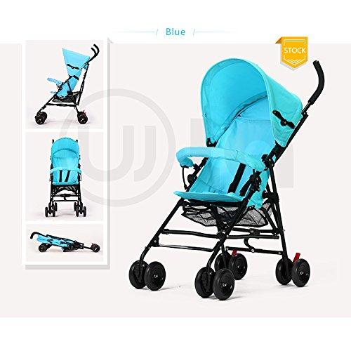 Big ants for baby 300D tightness oxford polyester Pushchair pram (Blue)