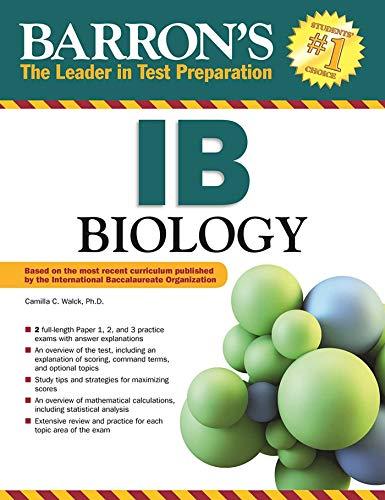 Barron's IB Biology (Barron's Ib Books)