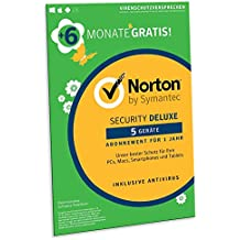 Norton Security Deluxe 2019 | 5 Geräte | 18 Monate Laufzeit| Schutz für PC/Mac/iOS/Android | Download