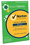Symantec 21382282 - Vollversion / Norton Security Deluxe 3.0 / Deutsch / 1 User / 5 Geräte / 18 Morate AMZ SLVPKG