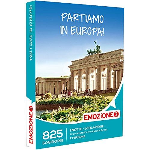 Emozione3 - cofanetto regalo - partiamo in europa! - 825 soggiorni in italia e europa in rinomati hotel