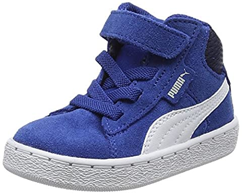 Puma 1948 Mid V Inf, Sneakers Basses Mixte Enfant, Bleu (True Blue-Puma White 13), 22 EU