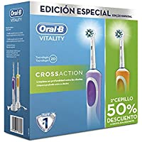 Pack dentaire promotionnel Duo Vitality Cross Action Oral B