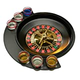 Premier Housewares - Ruleta de 6 vasos de chupito para juego de beber