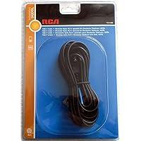 DSL Splitter-Kabel TAE-F auf Westernstecker RJ11, Länge 6m, für DSL Splitter und ISDN NTBA
