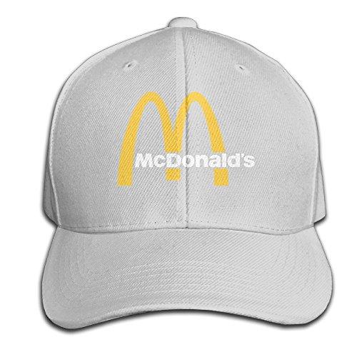 hittings-trave-leat-mcdonald-90s-logo-unisex-peaked-baseball-cap-snapback-hats-ash