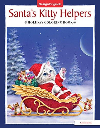 Santa's Kitty Helpers Holiday Coloring Book (Design Originals) -