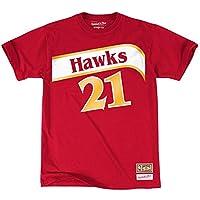 Camiseta Dominique Wilkins # 21 Nombre y Número Diseño de Atlanta ...