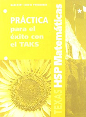 SPA-HARCOURT SCHOOL PUBLS SPAN (Harcourt School Publishers Spanish Math Texas) por HSP
