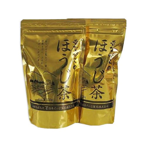 Tokyo Matcha Selection Tea - VALUE: [Decaffeinated] Golden Roasted Japanese tea 300g (150g*2packs) Houji-cha [Standard ship by SAL: NO tracking number]