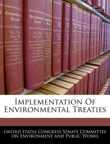 Implementation Of Environmental Treaties