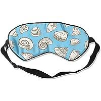 Comfortable Sleep Eyes Masks Sea Shells Printed Sleeping Mask For Travelling, Night Noon Nap, Mediation Or Yoga preisvergleich bei billige-tabletten.eu