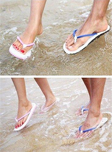 Minetom Unisex Schiuma Flat Flip Flops Slim Infradito e ciabatte da spiaggia EUROPE Taglia Blu