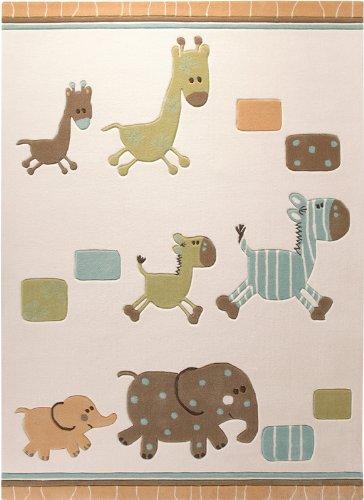 Esprit - Handtuft Lucky Zoo - beige - 170 x 240 cm