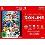 Super Smash Bros. Ultimate [Switch Download Code] + Switch Online 12 Monate [Download Code]