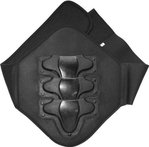 *Nierengurt Motorrad motorradnierengurt safety Rückenprotektor gurt schwarz, Größe:L*