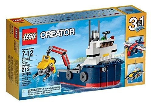 LEGO Creator 3 in 1 Ocean Explorer 31045 Brand New Sealed Set 213 Pcs /ITEM#G839GJ UY-W8EHF3191760 by WATER FANJOSE