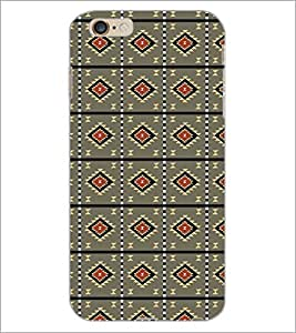 PrintDhaba Pattern D-5216 Back Case Cover for APPLE IPHONE 6 (Multi-Coloured)
