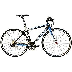 BEIOU ® 2016 Carbon cómodas bicicletas 700C bici del camino LTWOO 2 * 10 Velocidad SRAM freno completo 18.3 lb híbrido de bicicletas Toray T800 Fibra 520mm CB0012B352
