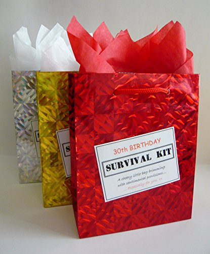 30th Birthday Survival Kit. For Male. Fun Gift Idea. Novelty Present. For Him.
