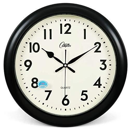 Yhcean Hauptdekorationen Wanduhr, Wohnzimmer, stille Uhr, kreative Uhrenkunst, große Quarzuhr, Moderne Mode, ewiger Kalender, hängende Uhr Büro Uhr