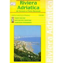 Riviera adriatica da Venezia a Porto Recanati 1 : 200.000