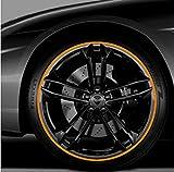 Neuf 2017 Anneau de voiture Tuning Roue en alliage jante protecteurs de pneu protection ligne en caoutchouc...