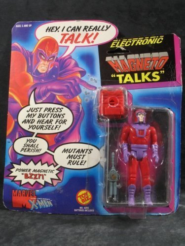 Electronic Talking Magneto X-men Action Figure by Toy Biz