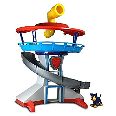 Paw Patrol - The Lookout Playset with Chase de Paw Patrol