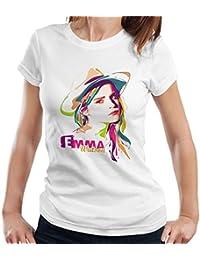 Geometric Celebrity Emma Watson Women's T-Shirt