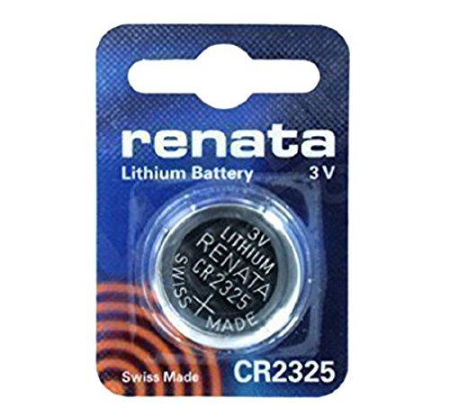Pile Bouton Lithium Renata CR2325 3V Pour Montre DL 2325 ECR 2325 BR 2325 x 2