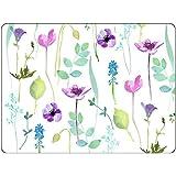 Pimpernel Eau Jardin Sets de table, lot de 4, multicolore