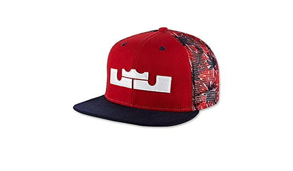 2e34ddccd1f2 Nike LeBron 4th of July Snapback Hat  Amazon.in  Clothing   Accessories