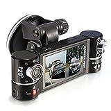 Caméra de voiture, c'est Dash Cam 6,9cm, nouvel objectif double caméra de voiture véhicule DVR Dash Cam Enregistreur vidéo deux objectifs