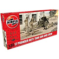 Airfix 1:32 Scale 17 Pounder Anti-Tank Gun And Crew Model Kit