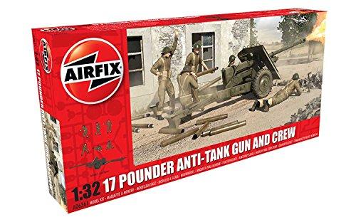 Airfix A06361 - Modellbausatz 17 PDR Anti-Tank Gun