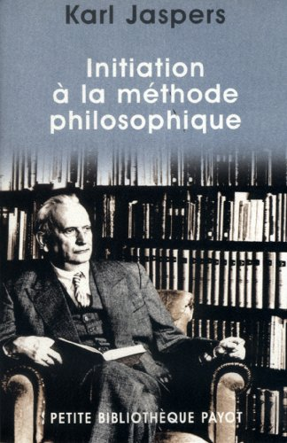 Initiation  la mthode philosophique