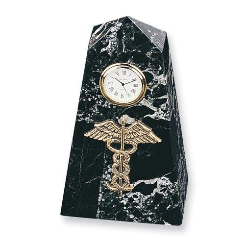Medizinische Marmor Emblem Uhr (Uhr Emblem)
