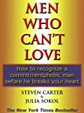 MEN WHO CAN'T LOVE (English Edition)