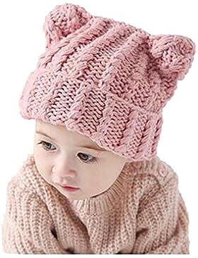 Bambini Cappello,Kword Neonato Neonato Berretto Maglia Crochet Foto Fotografia Prop Cap