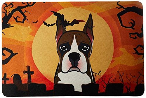 Caroline 's Treasures bb1781jcmt Halloween Boxer Küche oder Badteppich, 24von 91,4cm Multicolor